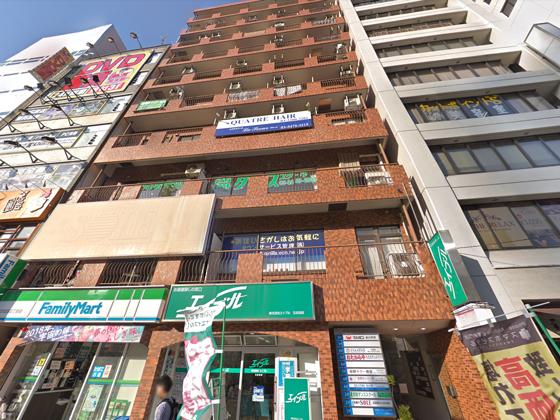 セルフィット五反田駅前店の外観